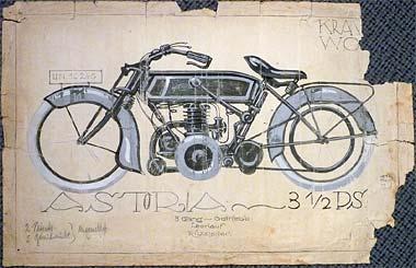 Astoria Zeichnung