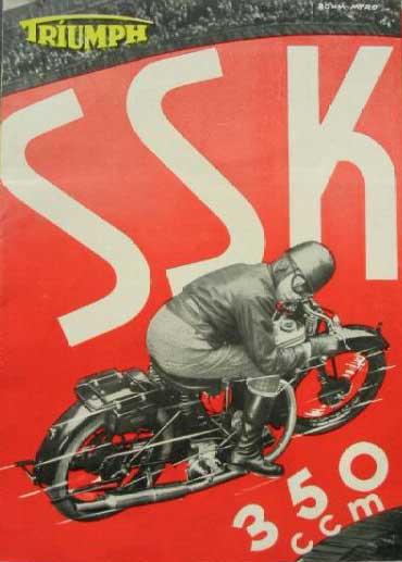 Motorräder aus Nürnberg: TRIUMPH SSK